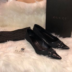 Women's 💯% authentic Gucci heels black 9B